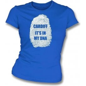 Cardiff - It's In My DNA Womens Slim Fit T-Shirt