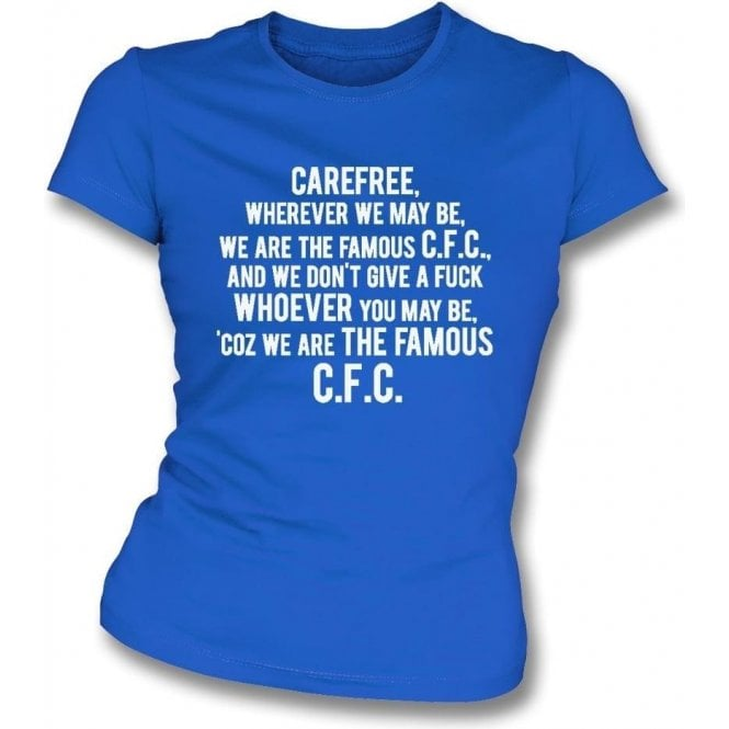 Carefree (Chelsea) Womens Slim Fit T-Shirt