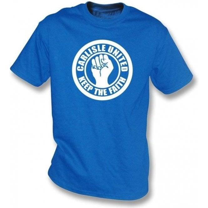 Carlisle Keep the Faith T-shirt