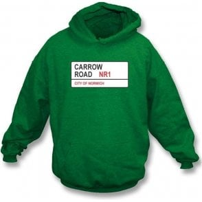 Carrow Road NR1 Hooded Sweatshirt (Norwich City)