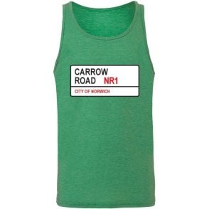 Carrow Road NR1 Men's Tank Top (Norwich City)