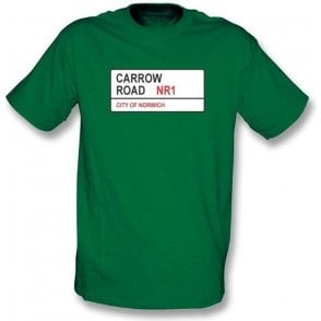 Carrow Road NR1 T-Shirt (Norwich City)