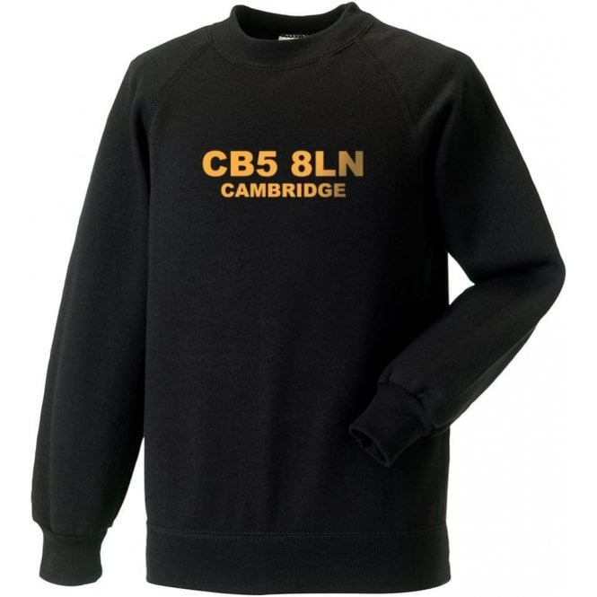 CB5 8LN Cambridge Sweatshirt (Cambridge United)