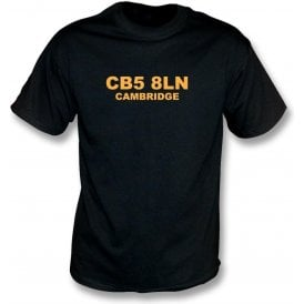 CB5 8LN Cambridge T-Shirt (Cambridge United)