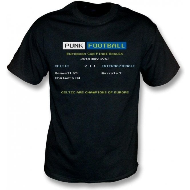 Celtic 1967 Ceefax T-Shirt