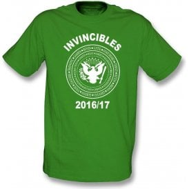 Celtic Invincibles 2016/17 (Ramones Style) T-Shirt