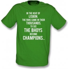 "Celtic ""Lisbon Lions"" Chant Kids T-Shirt"