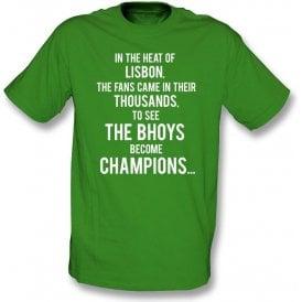 """Celtic """"Lisbon Lions"""" Chant Kids T-Shirt"""
