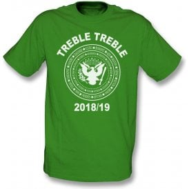 Celtic Treble Treble 2018/19 (Ramones Style) Kids T-Shirt