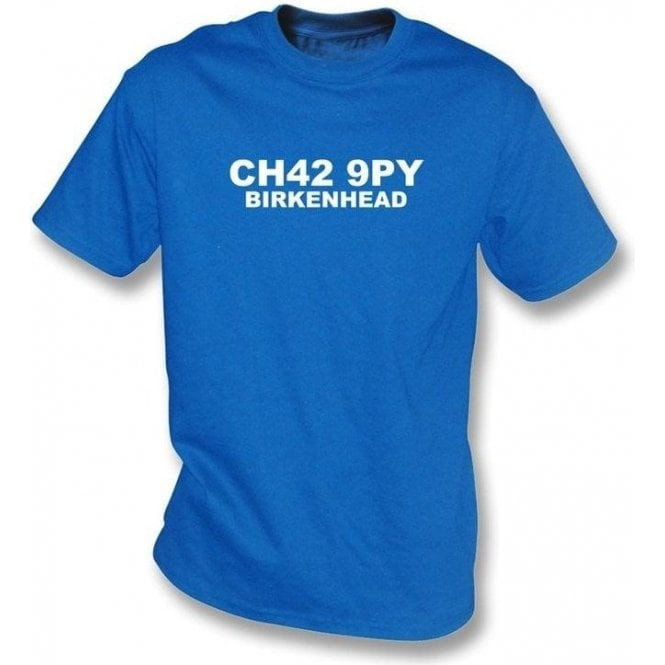 CH42 9PY Birkenhead T-Shirt (Tranmere Rovers)