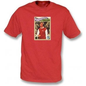 Charlie George 1971 (Arsenal) Red T-Shirt