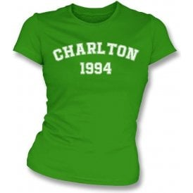Charlton 1994 (Republic of Ireland) Womens Slim Fit T-Shirt
