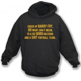 Cheer Up Barry Fry (Cambridge United) Hooded Sweatshirt
