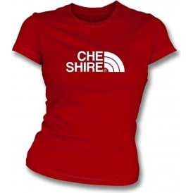 Cheshire (Crewe Alexandra) Womens Slim Fit T-Shirt