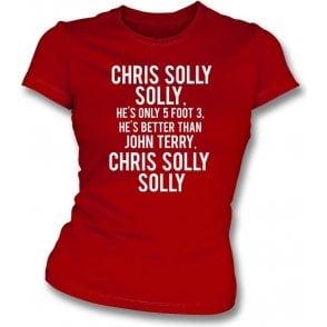 Chris Solly (Charlton Athletic) Womens Slim Fit T-Shirt