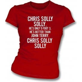 Chris Solly (Charlton Athletic) Womens Slim Fit T-Shirt