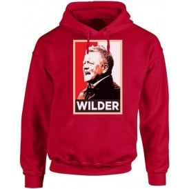 Chris Wilder - Hope Poster (Sheffield United) Hooded Sweatshirt