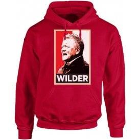 Chris Wilder - Hope Poster (Sheffield United) Hooded Sweatshirt
