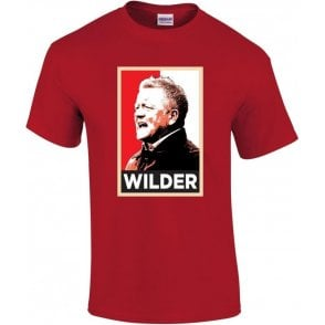Chris Wilder - Hope Poster (Sheffield United) Kids T-Shirt