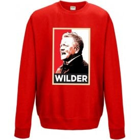 Chris Wilder - Hope Poster (Sheffield United) Sweatshirt