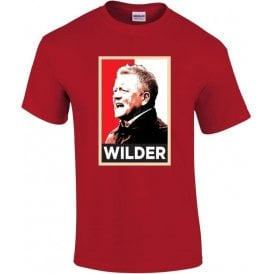 Chris Wilder - Hope Poster (Sheffield United) T-Shirt