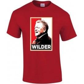 Chris Wilder - Hope Poster (Sheffield United) T-Shirt