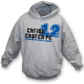 Christchurch FC (Bolton) hooded sweatshirt