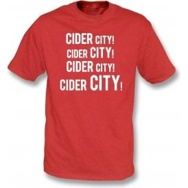Cider City! T-Shirt (Bristol City)