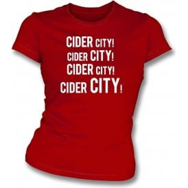 Cider City! Womens Slim Fit T-Shirt (Bristol City)