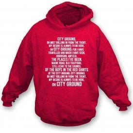City Ground (Nottingham Forest) Hooded Sweatshirt