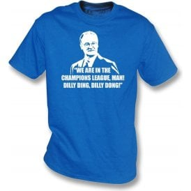 Claudio Ranieri - Dilly Ding, Dilly Dong (Champions League) Kids T-Shirt