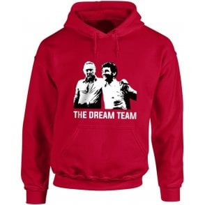 Clough & Taylor - The Dream Team (Nottingham Forest) Hooded Sweatshirt