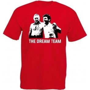 Clough & Taylor - The Dream Team (Nottingham Forest) T-Shirt