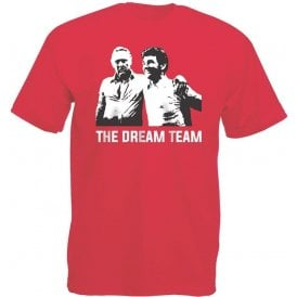 Clough & Taylor - The Dream Team (Nottingham Forest) Vintage Wash T-Shirt
