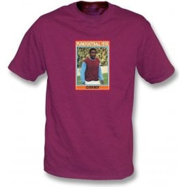 Clyde Best 1970 (West Ham) Maroon T-Shirt