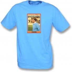 Colin Bell 1970 (Man City) Light Blue T-Shirt
