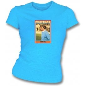 Colin Bell 1970 (Man City) Light Blue Women's Slimfit T-Shirt