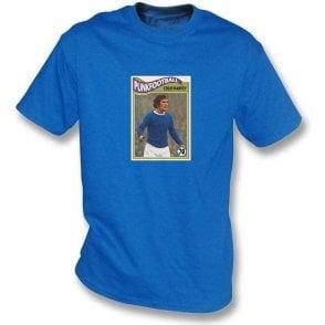 Colin Harvey 1970 (Everton) Royal Blue T-Shirt