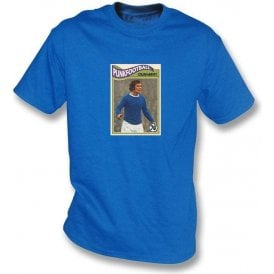 Colin Harvey 1970 (Everton) Royal Blue T-Shirt