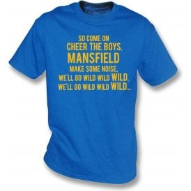 Come On Cheer The Boys (Mansfield Town) Kids T-Shirt