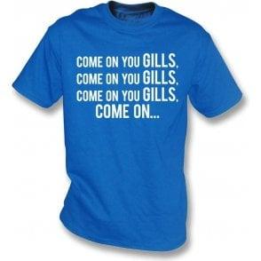 Come On You Gills (Gillingham) Kids T-Shirt