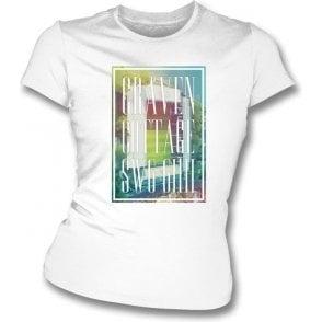 Craven Cottage SW6 6HH (Fulham) Women's Slimfit T-Shirt
