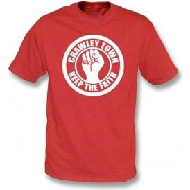 Crawley Town Keep the Faith T-shirt
