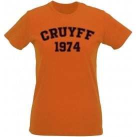 Cruyff 1974 (Netherlands) Womens Slim Fit T-Shirt