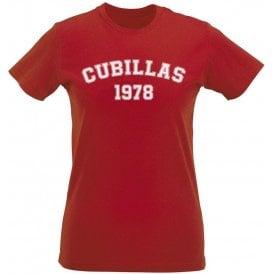 Cubillas 1978 (Peru) Womens Slim Fit T-Shirt