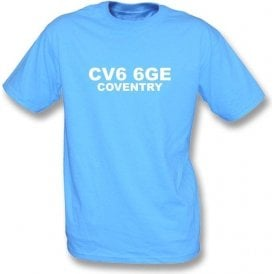 CV6 6GE Coventry T-Shirt (Coventry City)