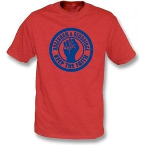 Dagenham & Red Keep the Faith T-shirt