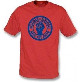 Dagenham & Red Keep the Faith T-shirt