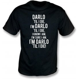 Darlo 'Til I Die (Darlington) Kids T-Shirt