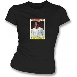 Dave Mackay 1970 (Derby County) Black Women's Slimfit T-Shirt